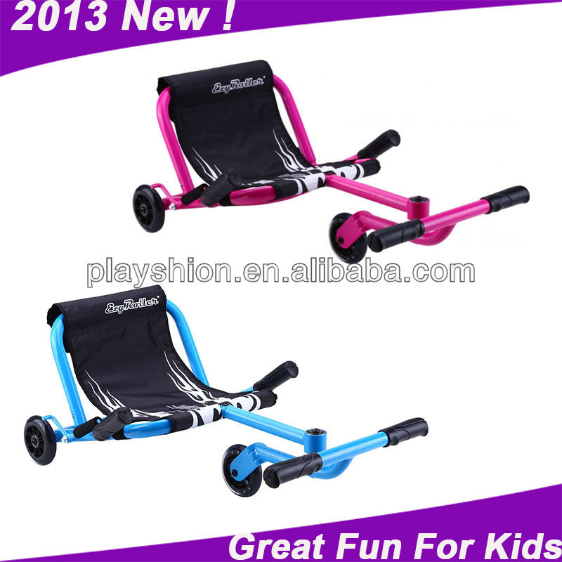 New Cool Kids Swing Scooter Toys Ezy Roller Three Wheels With Safety Rear Brake