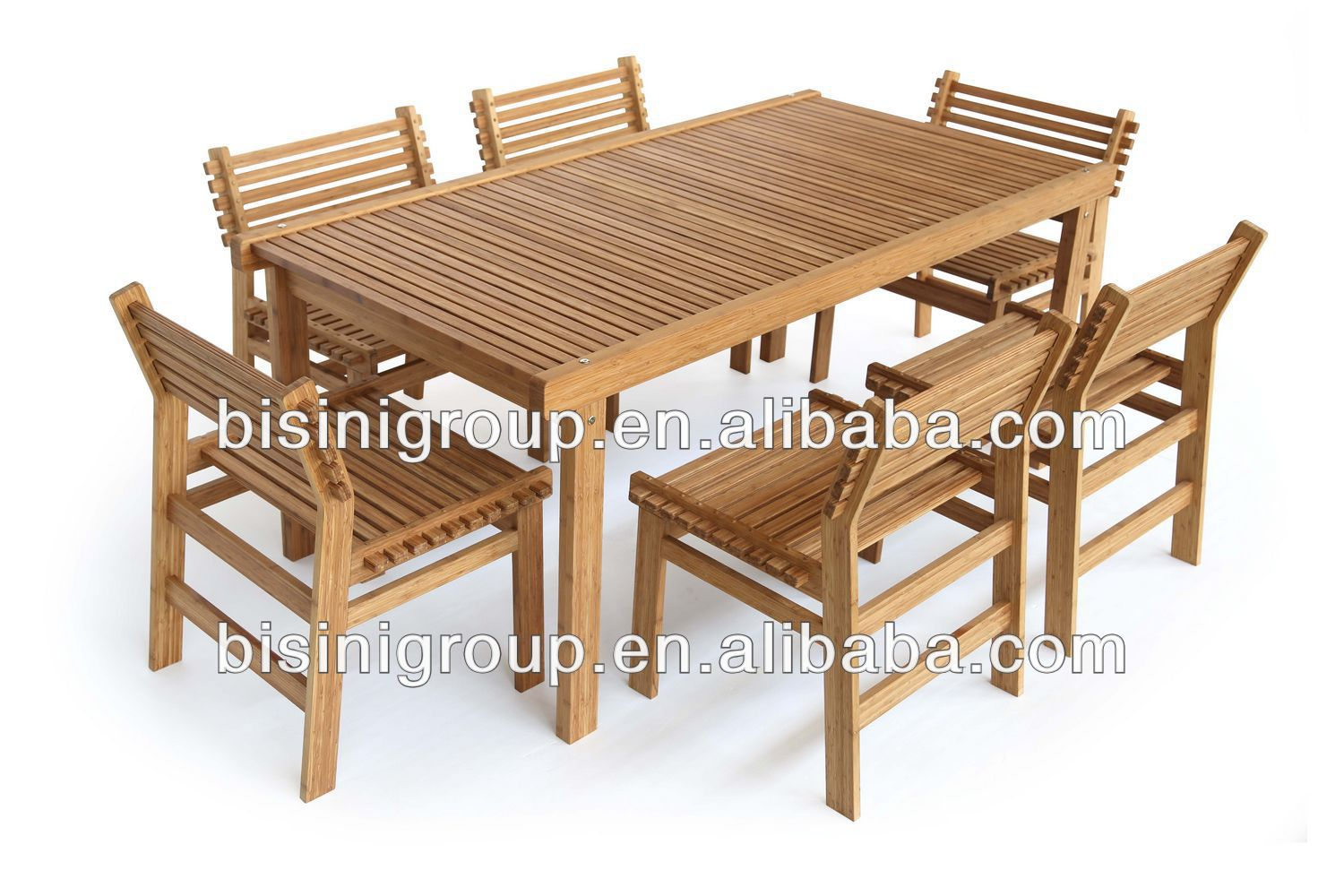 Best bamboo dining room set images for Wholesale furniture