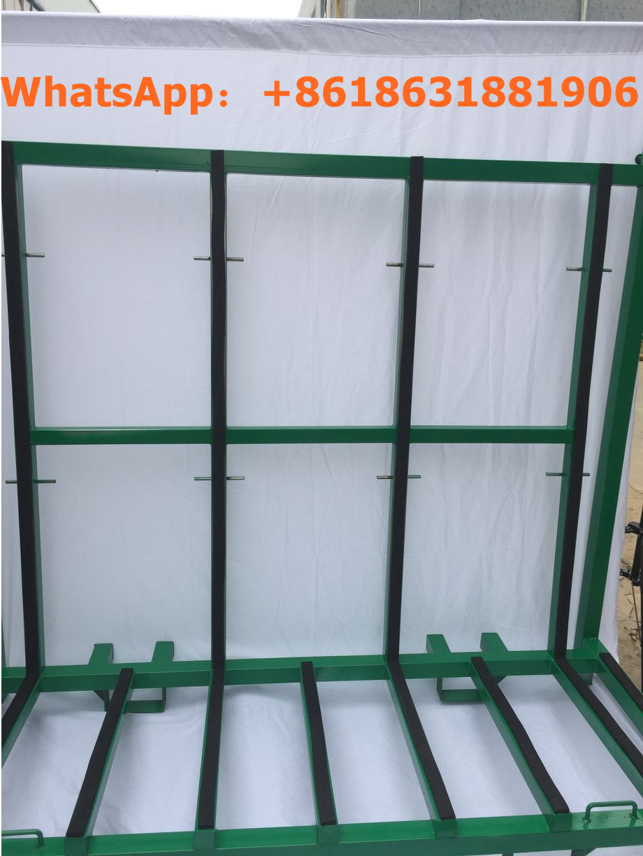 China Anping Counter top stone panel a-frame storage glass A frame rack