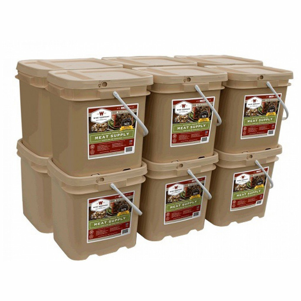 Wise Foods Storage Meat Bucket - 720 Servings