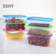 microwavable high transparent pp plastic kids bento lunch box