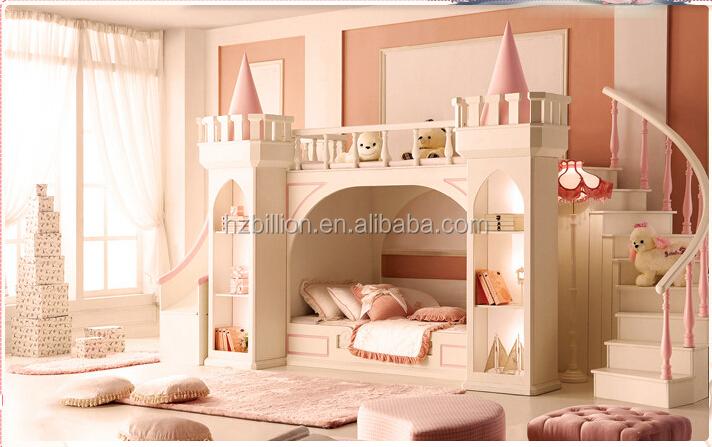 2015 Kinder Schlafzimmerm 246 Bel Etagenbett Prinzessin Bett