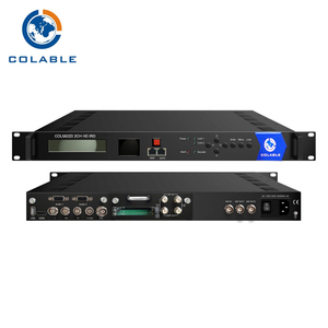 2 Channel rf to sdi, hd mi, cvbs, ip video decoder with h.264 COL5822D