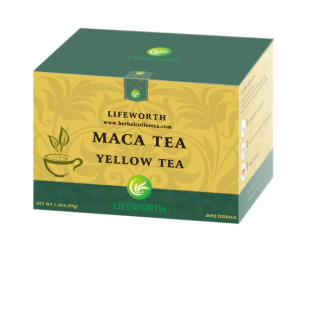 Lifeworth male enhancement organic maca powder yellow tea instant - 4uTea | 4uTea.com
