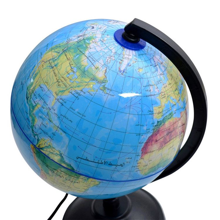 Most popular high quality 2017 illuminated world globe
