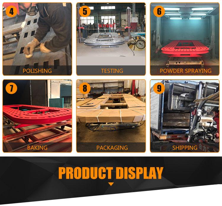 Auto tirando la panchina auto panca telaio macchina per la vendita (CE approvato)