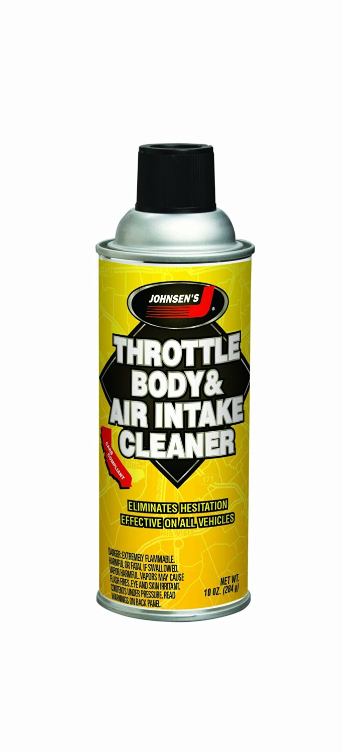 Johnsen's 4720-12PK Throttle Body and Air Intake Cleaner - 10 oz, (Pack of 12)