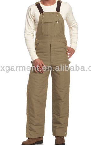fashion bib overalls factory uniform workwear coverall mechanic cheap fashion fishing bibpants