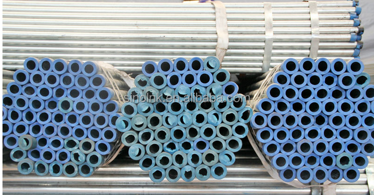 Galvanized pipe 1.5 3 4 galvanized steel hot rolled /dipped building pipe building materials inch Boa sorte Trade Assurance