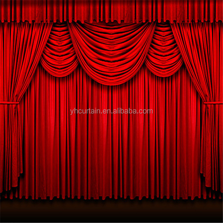 Electric Stage Curtain With Strong Tension Low Motorized Curtains Product On