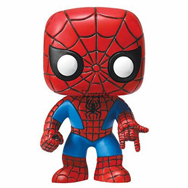 Hot Marvel pop Spider-man PVC figure,MINI action figure ,Vinyl Bobble-Head Spider-man pop