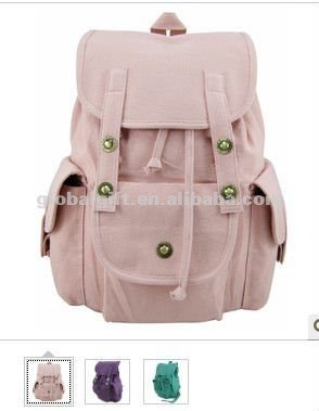 Cute Pink Canvas Backpack - Buy Backpack,Wholesale Fashion Vintage ...