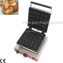 Commercial Use Nonstick 110v 220v Electric 25pcs Dutch Poffertjes Mini Pancake Maker