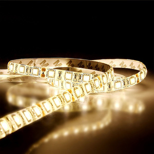 SMD 5050 12/24V 150 300 Bulbs LED Strip Light String Ribbon Tape Roll for festival decoration lighting