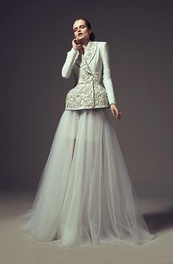 32299bb6cef7c أحدث تصميم أزياء اللباس كوتور ashi أستديو كم طويل ملابس نسائية أنيقة فساتين  السهرة الطويلة rff26