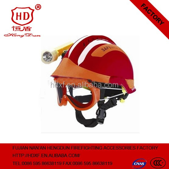 2016 new product Firefighting Used High Quality Cheap Price Anti Flame Fire Helmet