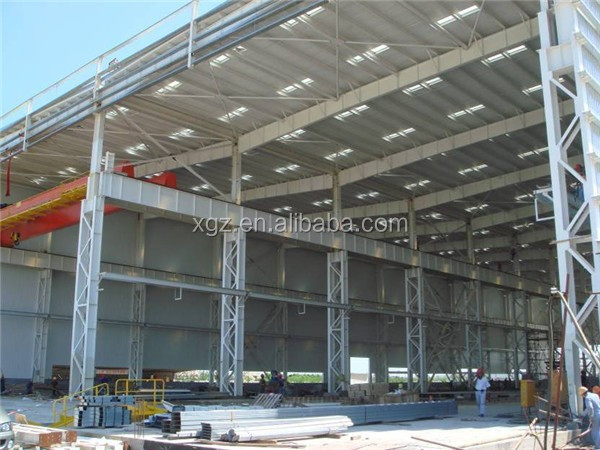 insulated industry steel construction factory building