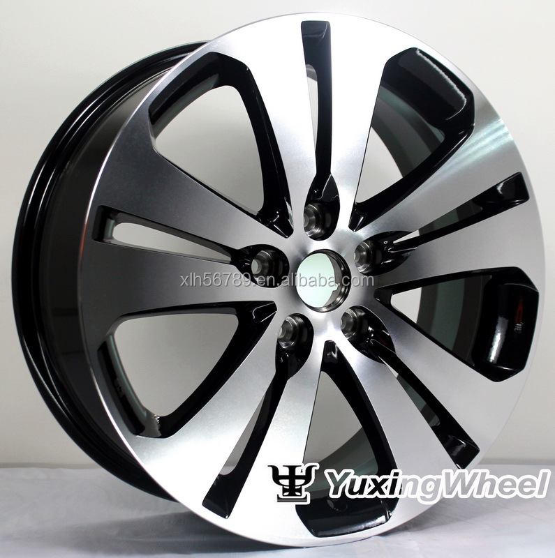 black machine 18 inch wheels 5x114.3 rims
