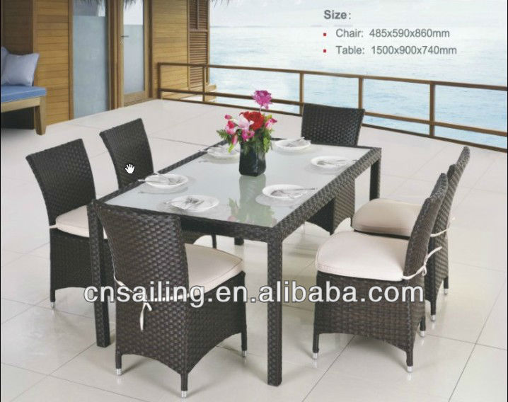 All Weather Wicker Rattan Furniture Philippines Dining Set ...