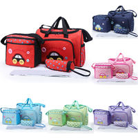 wholesale cartoon car pattern mother bags baby diaper stroller bags for Mommy