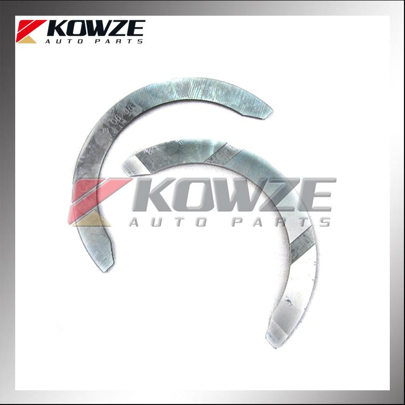 Crankshaft Thrust Bearing Set For Mitsubishi Triton L200 K62t K75t ...