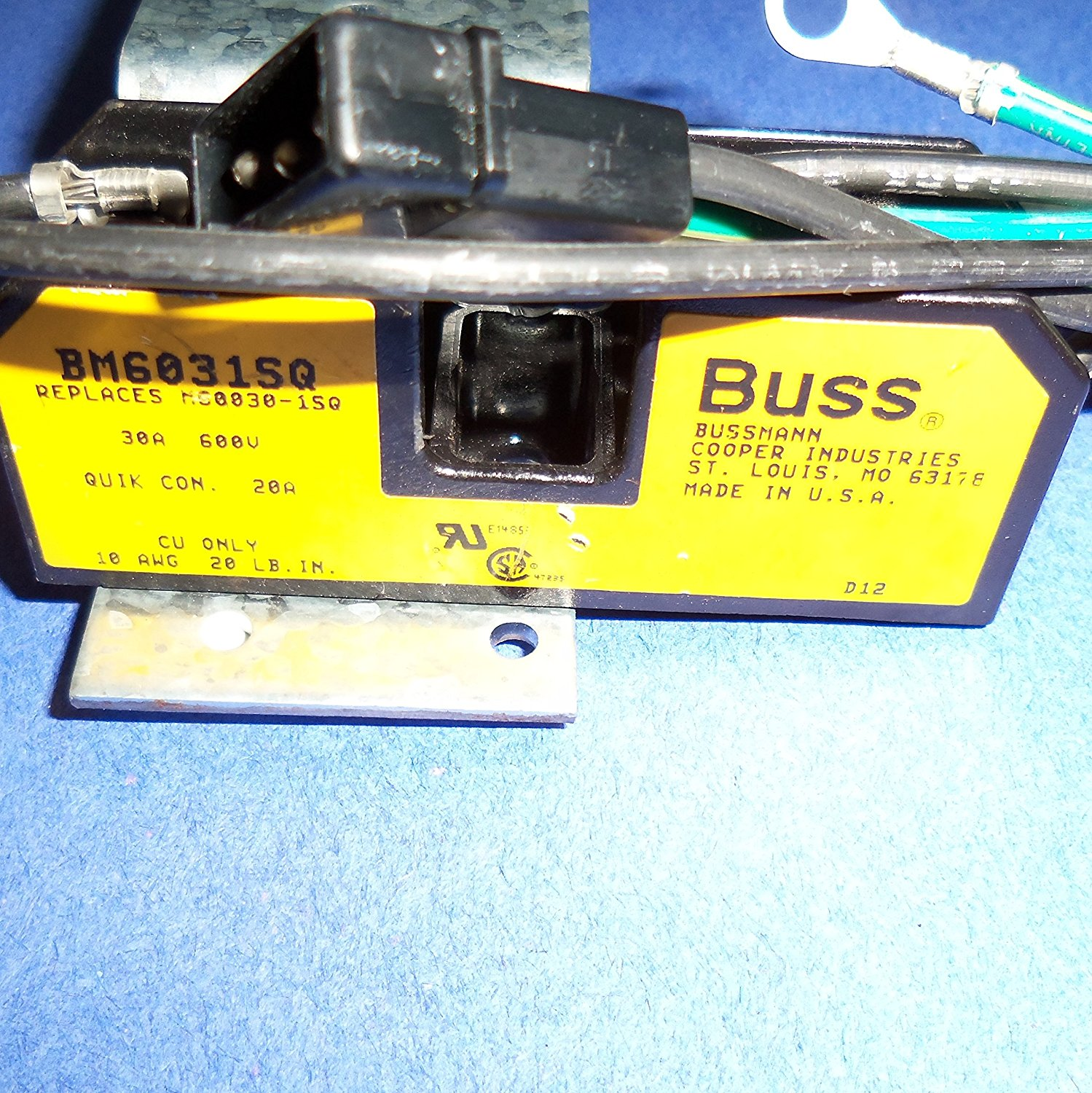 Cheap Buss Fuse Find Deals On Line At Alibabacom S Type Box Get Quotations Cooper Bussman Bm6031sq Block 30a 600v Holder 1 Pole 1038mm