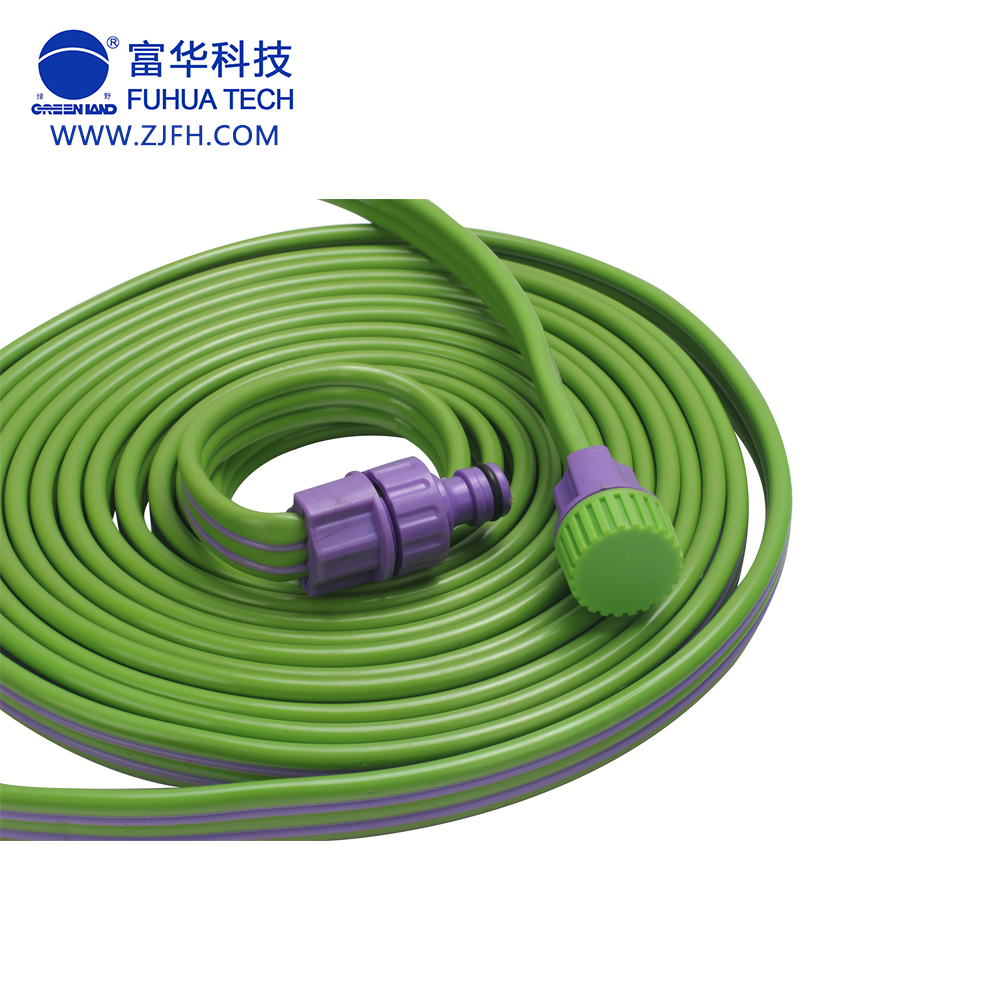 [Greenland]50FT triple spray hose for saving water with two fittings