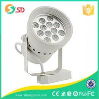 2wires 3wires 4wires 40w IP20 COB led track light CE ROHS approved, led track light white/black high quality china supplier