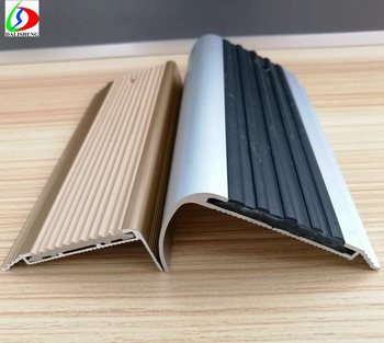 Anti Slip Strips Aluminum Stair Nosing Non Slip Strip For Stairs Strapping  Tape