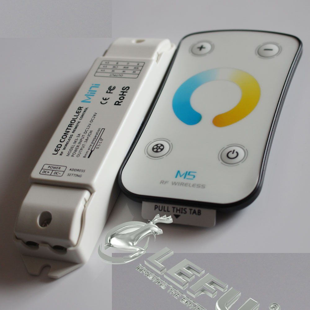 Color Temperature Touch Led Dimmer Remote Controller,3ch*3a,Dc12 ...