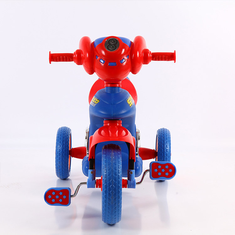 wholesale baby ride on car tricycle bike children car carrier walker baby tricycle/plastic moto style 3-wheeled children trike