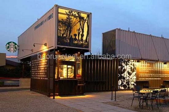 Modern Prefabricated Container light steel structure Houses Made In China