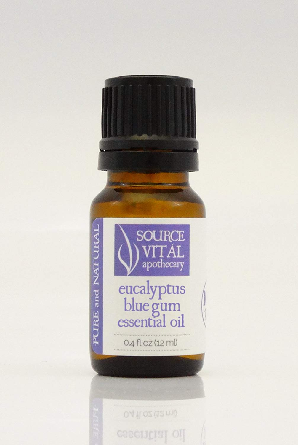 Source Vitál Apothecary 100% Pure and Natural Eucalyptus Blue Gum Essential Oil