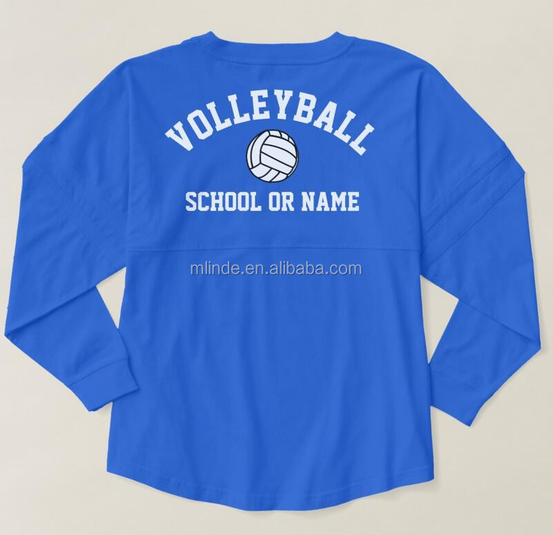 Custom Volleyball Jersey design Team School Player Club Name Custom Women Spirit pom-pom style volleyball jersey