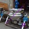 300l New Type Tilting Jacketed Kettle/Cooking Kettle/Cooking Mixer