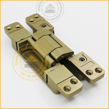 Japanese loading 80 kgs 180 degree zinc alloy 3D Adjustable invisible hinge of fire door