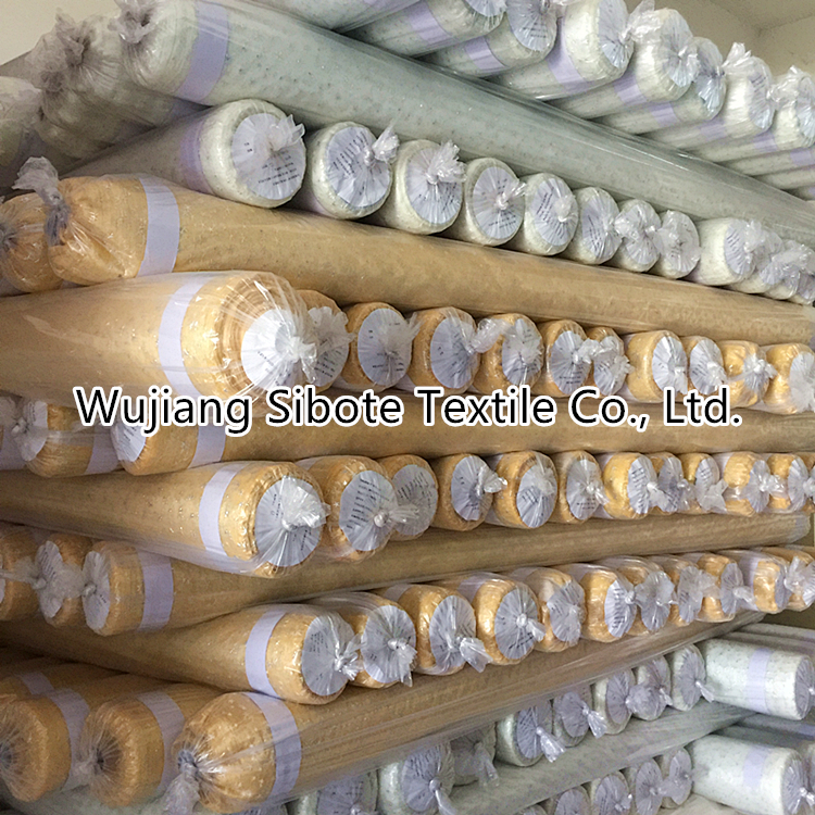 Wholesale Sliver Foil Organza Roll Fabric for Festival