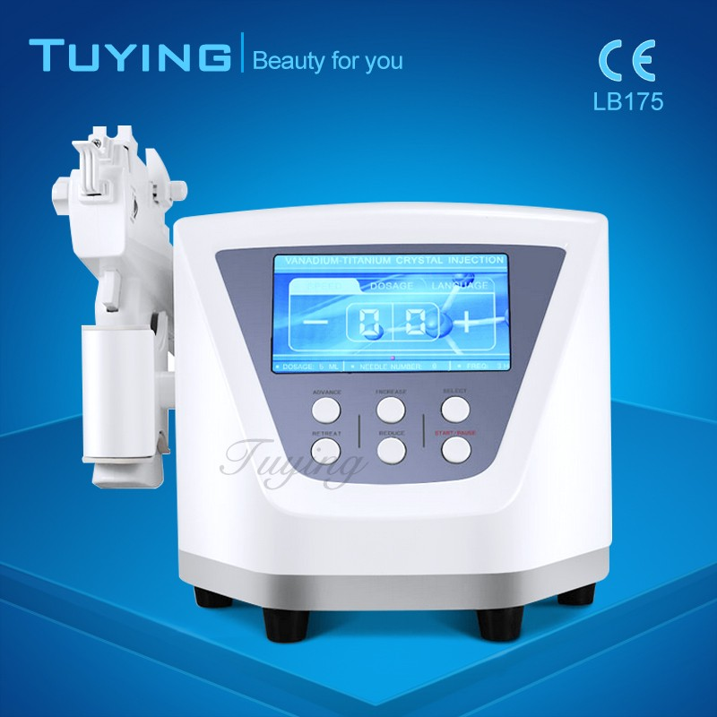 Non-Surgical Vanadium Titanium Needle Free Injection ,Mesotherapy Gun Korea