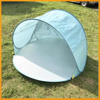 SPRA 289 Portable Sunscreen Beach Tents Inside Coating Polyester Outdoor Bottom Oxford Camping