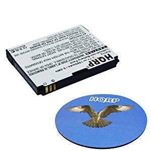 HQRP Battery for ZTE Aglaia, Blade Plus, Blade+, Merit Straight Talk, N762, V881, Vip Droid 2, Vip Droid II, Z900, Touch Plus GSM Phone Li3715T42P3h415266 + HQRP Coaster