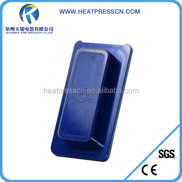 Sublimation heat prees mould for 3D samsung S2 phone case