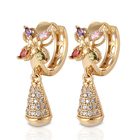 2018 new model latest simple gold earring designs for women