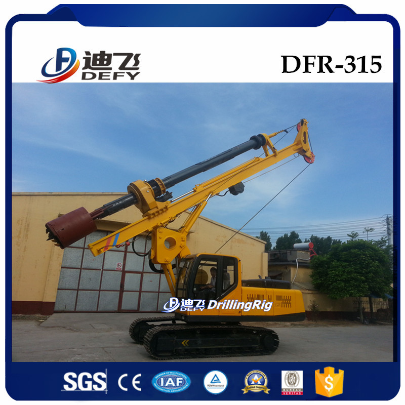 DFR-315 Ground Screw Pile Driver, Digging Machine with 500-1200mm diameter