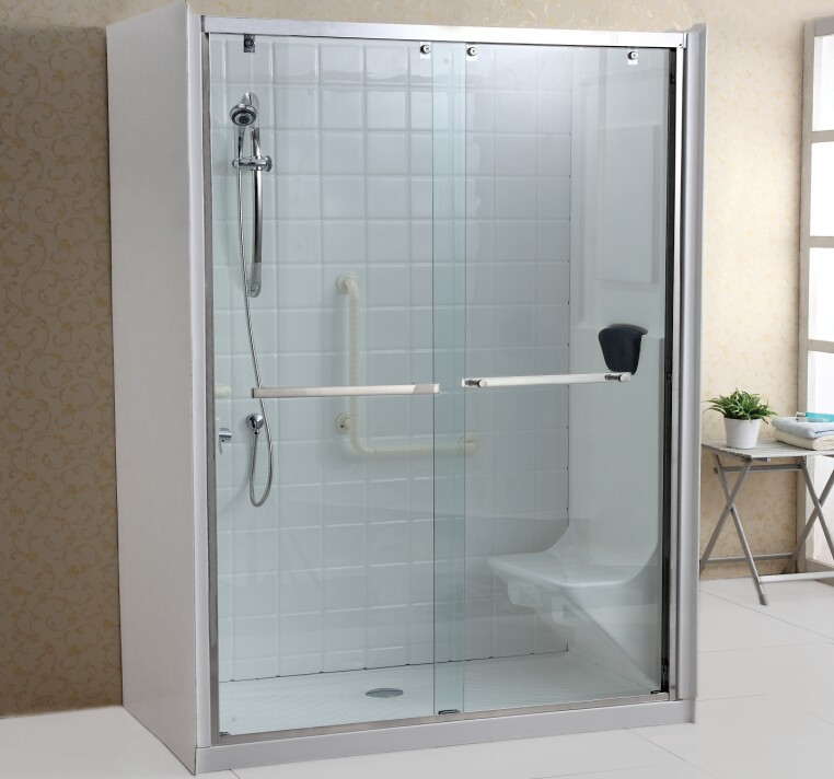 2 Sided Shower Enclosure With Seat Buy Walk In Shower Enclosure 2 Sided Sho