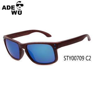 ADE WU china factory direct sale free sample online buy wooden sunglasses STY0709