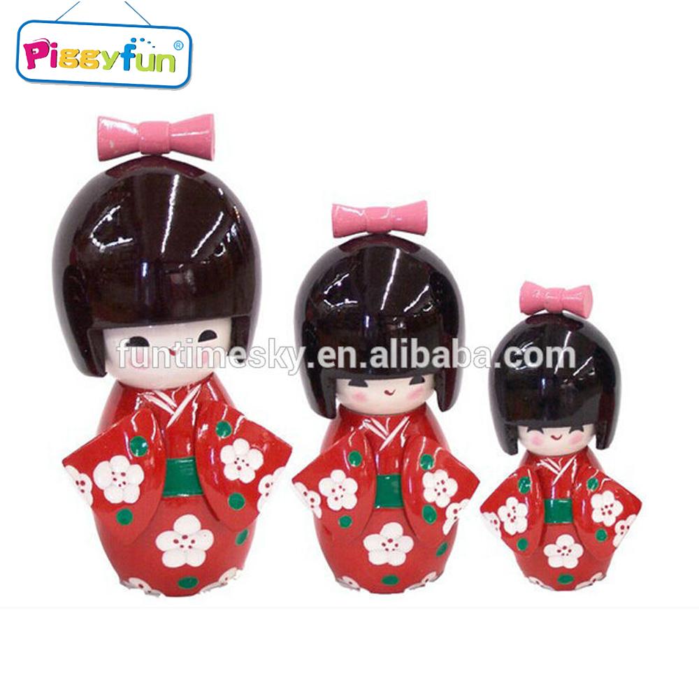 New Custom Japanese Traditional Kokeshi Doll Manual Shift Knob Universal Fit