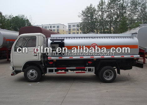 DFAC 5000L refueling trucks,mobile fuel tanker truck