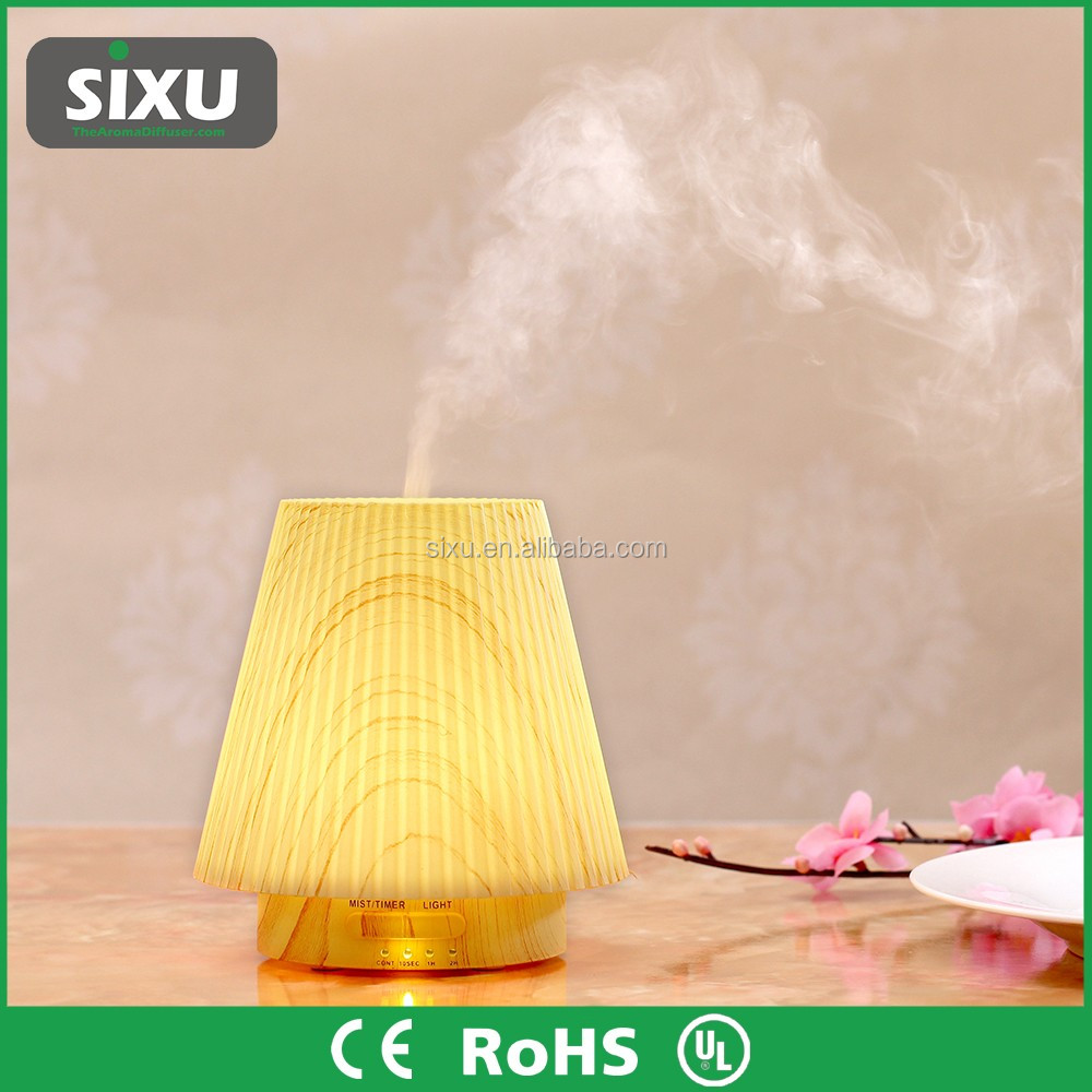 Fragrance lamp diffuser wooden sticks plastic light usb essential oil diffuser