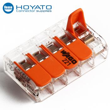 Small Size Connectors Wago 221 Series Wago 415 Led Terminal Block ...