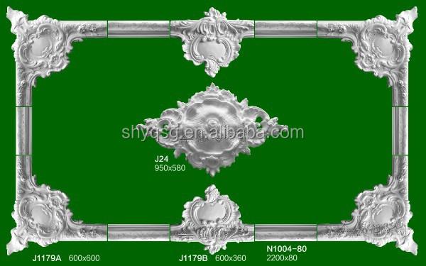 Gypsum Grg Moulding Interior Door Surround Decoration Urn